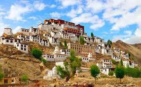 Thicksey Monastery In Leh