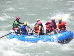 Manali Tourist Places - River Rafting, Manali