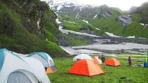 Camping at Beas Kund