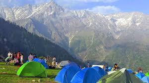 Camping In Bir Billing