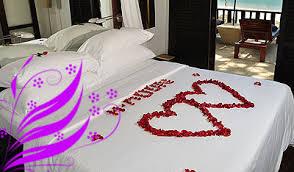 Flower Decoration for Honeymooners