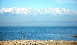 Dhauladhar Mountain View From Pong Dam