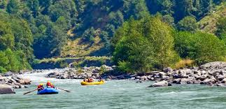 Kullu Travel Guide - River Rafting In Kullu