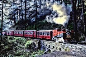 Shimla Tourist Places - Toy Train, Shimla