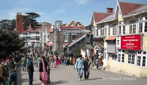 The Mall, Mall Road, Shimla