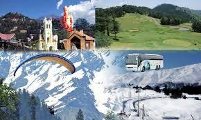 Shimla Tour By Volvo Bus